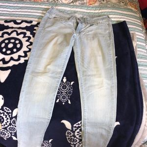 Levi's light wash jeans